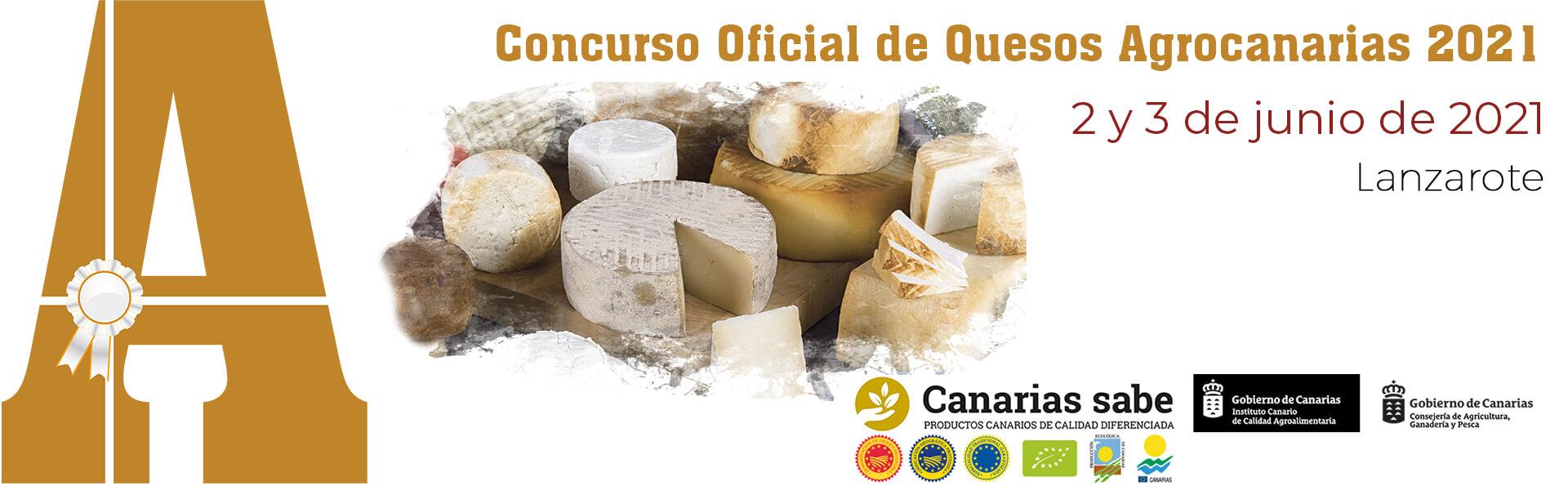 Concurso Oficial de Quesos Agrocanarias 2021
